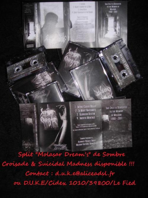 SOMBRE CROISADE/ SUICIDAL MADNESS